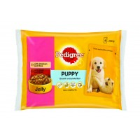 PEDIGREE MULTIPK PUP CH/BEE IN JELLY 4EA